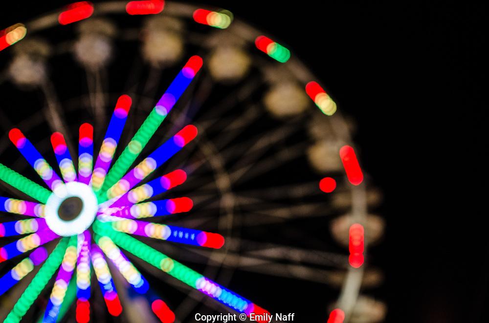 Tennessee State Fair, Ferris Wheel at Night