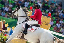 Soren Pedersen, (DEN), Tailormade Esperanza  - First Round Team Competition Jumping Speed - Alltech FEI World Equestrian Games™ 2014 - Normandy, France.<br /> © Hippo Foto Team - Leanjo De Koster<br /> 03-09-14