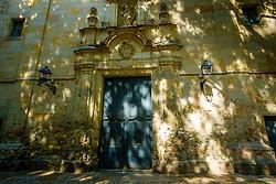Plaça de Sant Felip Neri (Sant Felip Neri Square) Barcelona, Catalonia, Spain.   Sant Felip Neri is a peaceful square hidden between the narrow and charming streets of the Gothic Quarter<br /> <br /> (c) Andrew Wilson | Edinburgh Elite media