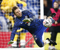 February 18, 2019 - London, United Kingdom - Chelsea's Robert Green during the pre-match warm-up .during FA Cup Fifth Round between Chelsea and Manchester United at Stanford Bridge stadium , London, England on 18 Feb 2019. (Credit Image: © Action Foto Sport/NurPhoto via ZUMA Press)