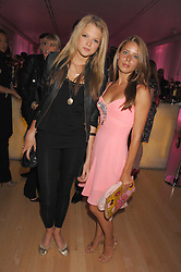 Left to right, GABRIELLA ANSTRUTHER-GOUGH-CALTHORPE and LYDIA FORTE at the Lauren-Perrier 'Pop Art' Pink Party in aid of Capital 95.8's Help A London Child, held at Suka at the Sanderson Hotel, 50 Berners Street, London W1 on 25th April 2007.<br /><br />NON EXCLUSIVE - WORLD RIGHTS