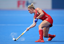 England's Susannah Townsend during the Vitality Women's Hockey World Cup pool B match at The Lee Valley Hockey and Tennis Centre, London.