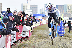 December 15, 2018 - Anvers, Belgium - MATHIEU VAN DER POEL (NED) of Corendon Circus in action during the DVV verzekeringen Trofee  Elite men Soudal Scheldecross Antwerpen cyclocross race. (Credit Image: © Panoramic via ZUMA Press)