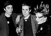 The Damned  fans at concert London 1975