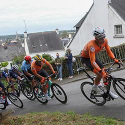 27-08-2020: Wielrennen: EK wielrennen: Plouay<br />Marijn van den Berg, Olav Kooij