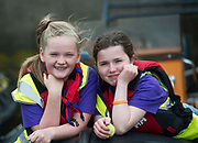 02/07/2017 REPRO FREE:  Katie Monaghan and Saibh Murphy from Galway Dock Sea Scouts at Seafest 2017, the National Maritime Festival which rran at the weekend  in Galway.<br /> . Photo:Andrew Downes, xposure .