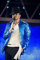 Peter Andre, making his West End debut in Thriller Live at Lyric Theatre London. 10.12.19