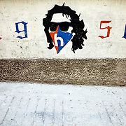 Street art associated with Torcida, the supporters group of the Hajduk Split football team in Split, Croatia. It was founded on October 28, 1950 and is the oldest supporters group in Europe.<br />