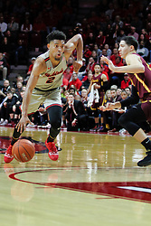 NORMAL, IL - February 02: Zach Copeland during a college basketball game between the ISU Redbirds and the University of Loyola Chicago Ramblers on February 02 2019 at Redbird Arena in Normal, IL. (Photo by Alan Look)