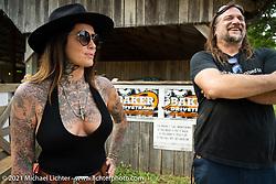Rebekka at the BC Moto Show at the Tennessee Motorcycles and Music Revival at Loretta Lynn's Ranch. Hurricane Mills, TN, USA. Saturday, May 22, 2021. Photography ©2021 Michael Lichter.