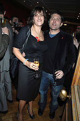 TRACEY EMIN and KENNY GOSS at the Lighthouse Gala Auction in aid of the Terence Higgins Trust held at Christie's, St.James's, London on 12th March 2007.<br /><br />NON EXCLUSIVE - WORLD RIGHTS