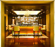 The bar at the Pezula Resort in Knysna, South Africa.