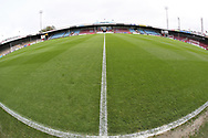 General view inside Glanford Park prior to the EFL Sky Bet League 1 match between Scunthorpe United and Plymouth Argyle at Glanford Park, Scunthorpe, England on 27 October 2018. Pic Mick Atkins