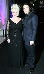 © Licensed to London News Pictures. Barbara Windsor and  Scott Mitchell attending the London Evening Standard Theatre Awards at the The Savoy Hotel in London, UK on 17 November 2013. Photo credit: Richard Goldschmidt/PiQtured/LNP