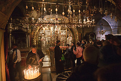 Inside the Church of Holy Sepulchre, Jerusalem. Train & Travel is a unique ten day program designed for IKMF's instructors, students & guests, interested in combining Krav Maga training with a tour of the holy land, Tuesday 4th Jan, 2011. .©2011 Michael Schofield. All Rights Reserved.