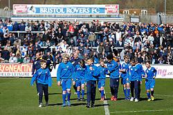 Academy teams - Photo mandatory by-line: Rogan Thomson/JMP - 07966 386802 - 11/04/2015 - SPORT - FOOTBALL - Bristol, England - Memorial Stadium - Bristol Rovers v Southport - Vanarama Conference Premier.- Photo mandatory by-line: Rogan Thomson/JMP - 07966 386802 - 11/04/2015 - SPORT - FOOTBALL - Bristol, England - Memorial Stadium - Bristol Rovers v Southport - Vanarama Conference Premier.