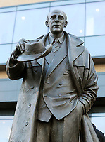 Football - 2016 / 2017 FA Cup - Fifth Round: Wolverhampton Wanderers vs. Chelsea<br /> <br /> Statue of ex Manager Stan Cullis outside Molineux.<br /> <br /> COLORSPORT/ANDREW COWIE