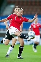 Fotball<br /> EM 2009 kvinner<br /> Semifinale<br /> Tyskland v Norge<br /> Foto: Jussi Eskola/Digitalsport<br /> NORWAY ONLY<br /> <br /> Marita Skammelsrud Lund