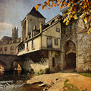 The Old City of Moret-Sur-Loing, Seine et Marne, France