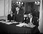 1961 - David Brown tractors Press Conference at the Gresham Hotel.
