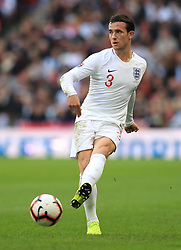 England's Ben Chilwell during the UEFA Nations League, Group A4 match at Wembley Stadium, London. PRESS ASSOCIATION Photo. Picture date: Sunday November 18, 2018. See PA story SOCCER England. Photo credit should read: Mike Egerton/PA Wire. RESTRICTIONS: Use subject to FA restrictions. Editorial use only. Commercial use only with prior written consent of the FA. No editing except cropping.