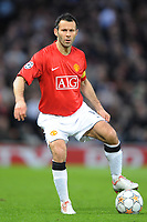 Fotball<br /> Italia<br /> Foto: Inside/Digitalsport<br /> NORWAY ONLY<br /> <br /> Ryan Giggs (Manchester)<br /> <br /> 10.04.2008<br /> Champions League Quarter finals<br /> Manchester United v AS Roma (1-0)