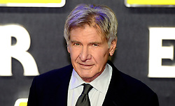 File photo dated 16/12/2015 of Star Wars and Indiana Jones actor Harrison Ford who celebrates his 75th birthday.