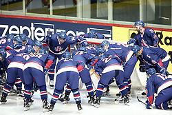 18.04.2016, Dom Sportova, Zagreb, CRO, IIHF WM, England vs Estland, Division I, Gruppe B, im Bild Team England // during the 2016 IIHF Ice Hockey World Championship, Division I, Group B, match between England and Estonia at the Dom Sportova in Zagreb, Croatia on 2016/04/18. EXPA Pictures © 2016, PhotoCredit: EXPA/ Pixsell/ Sanjin Strukic<br /> <br /> *****ATTENTION - for AUT, SLO, SUI, SWE, ITA, FRA only*****