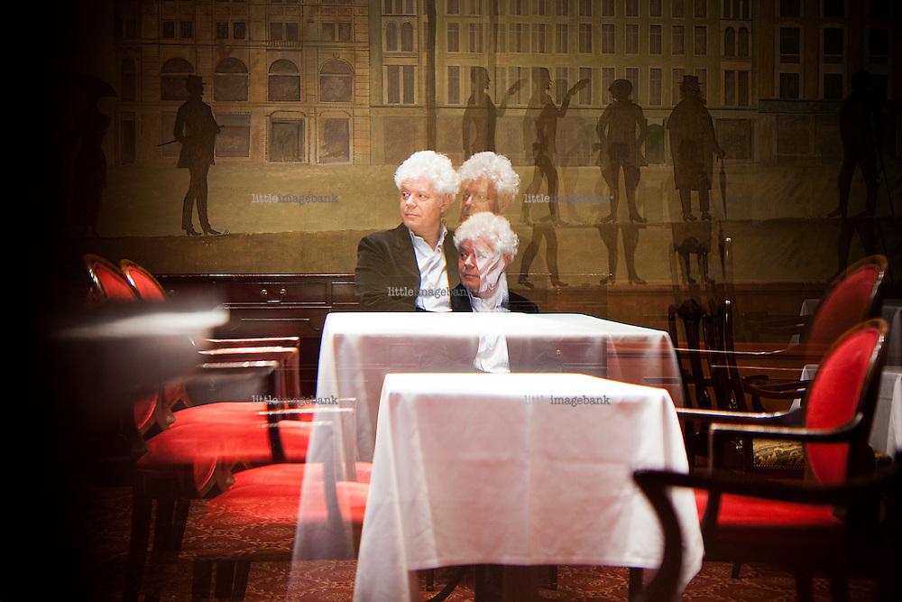 Oslo, Norge, 25.06.2012. Paul Scheffer er professor ved Tilburg Universitet, og snakker om multikulturalisme. Foto: Christopher Olssøn.