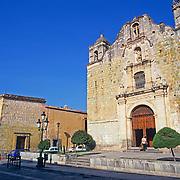 Exterior of church. Oaxaca, Mexico.