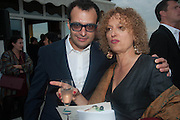 VADIM GRIGORIAN; CAROLYN CHRISTOV-BAKARGIEV; , Absolut Art Bureau cocktails and dinner to celebrate the announcement of the 2013 Absolut Art Award shortlist. Bauer Hotel, San Marco. Venice. Venice Bienalle. 28 May 2013