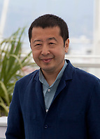 Director Jia Zhang-Ke at the Ash Is The Purest White (Jiang Hu Er Nv) film photo call at the 71st Cannes Film Festival, Saturday 12th May 2018, Cannes, France. Photo credit: Doreen Kennedy