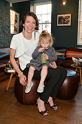 THOMASINA MIERS and her daughter TATYANA WILLIAMS at the launch of Thomasina Miers's new book Chilli Notes held at Wahaca, 19-23 Charlotte Street, London W1 on 6th May 2014.