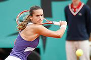 Roland Garros. Paris, France. May 31st 2007..2nd Round..Amélie MAURESMO against Nathalie DECHY.