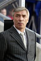 Fotball, 28. april 2004, Privatlandskamp, Norge-Russland 3-2,  Head coach Russia, Georgi Yartsev, trener Russland