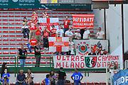 DESCRIZIONE : Supercoppa 2014 Semifinale Olimpia EA7 Emporio Armani Milano - Enel Brindisi<br /> GIOCATORE : Ultras Milano<br /> CATEGORIA : Pubblico Spettatori Tifosi<br /> SQUADRA : Olimpia EA7 Emporio Armani Milano<br /> EVENTO : Supercoppa 2014<br /> GARA : Olimpia EA7 Emporio Armani Milano - Enel Brindisi<br /> DATA : 04/10/2014<br /> SPORT : Pallacanestro <br /> AUTORE : Agenzia Ciamillo-Castoria / Luigi Canu<br /> Galleria : Supercoppa 2014<br /> Fotonotizia : Supercoppa 2014 Semifinale Olimpia EA7 Emporio Armani Milano - Enel Brindisi<br /> Predefinita :