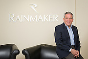 David Guercio, Executive Vice President of Business Development of Rainmaker Systems, Inc., poses for a portrait at the Rainmaker Systems, Inc. campus in Campbell, California, on April 25, 2013. (Stan Olszewski/SOSKIphoto)