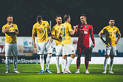 during football match between NK Bravo and ND Gorica in 29th Round of Prva liga Telekom Slovenije 2020/21, on April 21, 2021 in Sports park Nova Gorica, Nova Gorica, Slovenia. Photo by Grega Valancic / Sportida