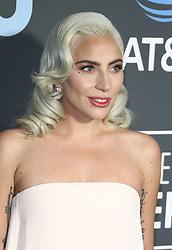 The 24th Annual Critics' Choice Awards at The Barker Hangar in Santa Monica, California on 1/13/19. 13 Jan 2019 Pictured: Lady Gaga. Photo credit: River / MEGA TheMegaAgency.com +1 888 505 6342