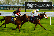 Roys Dream ridden by Franny Norton and trained by Paul Collins, Ghepardo ridden by Tom Marquand and trained by Patrick Chamings - Ryan Hiscott/JMP - 15/05/2019 - PR - Bath Racecourse - Bath, England - Bath Racecourse Wednesday 15th May 2019