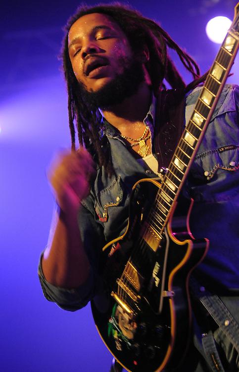Reggae aus Jamaica, Stephen Marley SOHN des Bob Marley bei einem Konzert seiner Europa-Tour 2012 /  Reggae from Jamaica, Stephen Marley SON of Bob Marley on his Europe Tour in 2012
