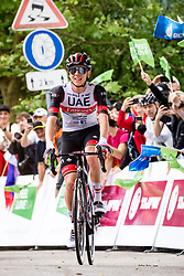 Tadej POGACAR of UAE TEAM EMIRATES during 2nd Stage of 27th Tour of Slovenia 2021 cycling race between Zalec and Celje (147 km), on June 10, 2021 in Slovenia. Photo by Matic Klansek Velej / Sportida