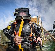 Desco Pot commercial diver  at Dutch Springs in Bethlehem, Pennsylvania