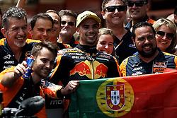 June 17, 2018 - Barcelona, Catalonia, Spain - Miguel Oliveira (44) of Portugal and Red Bull KTM Ajo KTM during the race day of the Gran Premi Monster Energy de Catalunya, Circuit of Catalunya, Montmelo, Spain. 17th June of 2018. (Credit Image: © Jose Breton/NurPhoto via ZUMA Press)