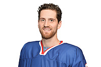 BUDAPEST, HUNGARY - APRIL 18:  Great Britain Ice Hockey Team Forward, Brett Perlini. IIHF World Championship Division 1A (Photo by Dean Woolley)