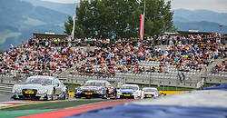 01.08.2015, Red Bull Ring, Spielberg, AUT, DTM Red Bull Ring, Rennen, im Bild Nico Mueller (SUI, Audi RS 5 DTM), Antonio Felix da Costa (POR, BMW M4 DTM), Maxime Martin (BEL, BMW  M4 DTM , Timo Scheider (GER, Audi RS 5 DTM) // during the DTM Championships 2015 at the Red Bull Ring in Spielberg, Austria, 2015/08/01, EXPA Pictures © 2015, PhotoCredit: EXPA/ Dominik Angerer