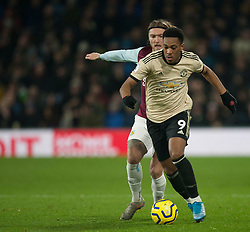 Anthony Martial of Manchester United (R) and Jeff Hendrick of Burnley in action - Mandatory by-line: Jack Phillips/JMP - 28/12/2019 - FOOTBALL - Turf Moor - Burnley, England - Burnley v Manchester United - English Premier League