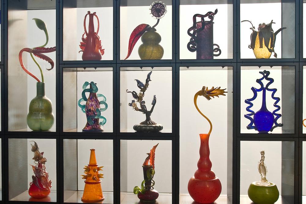 Venetian Wall, glass art by Dale Chihully, Tacoma, Washington, United States