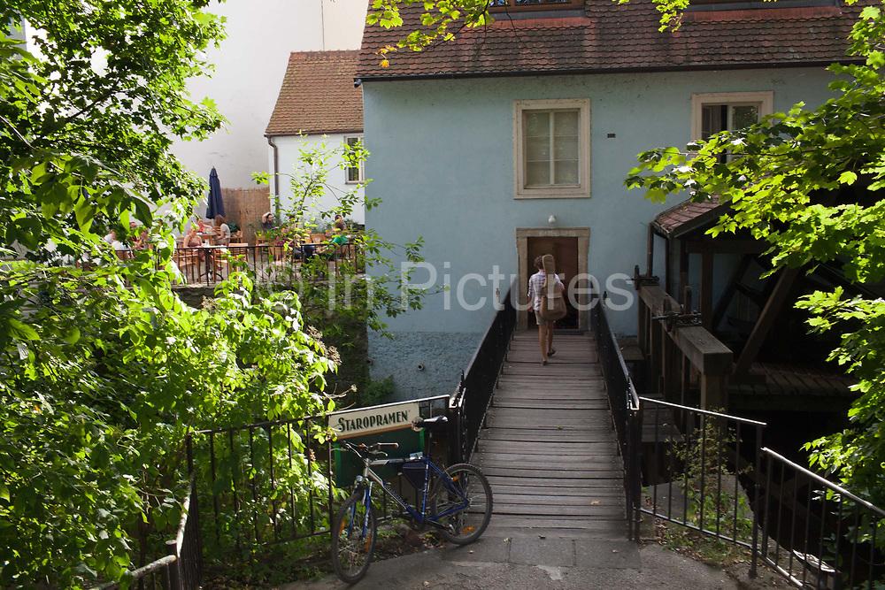 Cafe Mylynska, Kampa Park; Prague, Czech Republic.