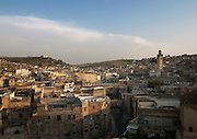 View of the medina including the Kairaouine Mosque in Fes, Morocco
